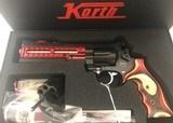 KORTH NIGHTHAWK CUST. SUPERSPORT RED 9mm/357 RARE - 1 of 9