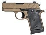 Sig Sauer P938 Emperor Scorpion 9mm Luger 938-9-ESCPN-AMBI