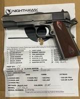 Colt Hawk 1911 Nighthawk 45 ACP1658 - 4 of 8