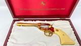 Colt SAA Alabama Sesquicentennial SAA .22 LR SAA Gold Plated 1578