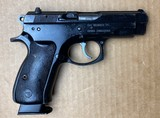 Used CZ 75D Compact 9mm 2617