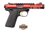 Ruger Mark IV 22 LR Red 43935 2626