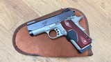 Used Kimber Ultra Crimson Carry II 45 ACP FO Sights + Red Lasergrips