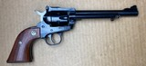 Used Ruger New Model Single Six 22 LR/Mag 6.5