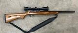 Ruger 10/22 22 LR Target W/ Tasco 3-9x40 Scope 1121 - 1 of 2