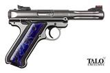 Ruger Mark IV TALO 22 LR Stainless 4.5