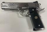 Wilson Combat Custom Engraved CQB Elite Stainless Steel 45 ACP