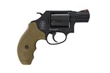 Smith & Wesson Model 360 357 Mag Scandium Airweight FDE Grip 11749 1771