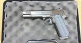 Used Kimber Super Carry Custom HD 45 ACP night sights 8 rd one mag