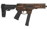 CMMG MkGs Banshee 300 9mm Midnight Bronze 99A172F-MB