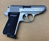 Like New Interarms Walther PPK/S 380 ACP 9mm Kurz Stainless Steel