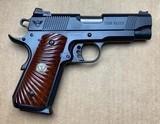 Wilson Combat CQB Elite Compact 9mm 1911 Cocobolo Grips CQBE-CP-9