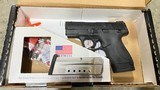 Used Smith & Wesson Performance Center 9mm Ported Shield 10108