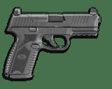 FN 509 Midsize MRD 9mm 66-100587 - 1 of 4