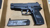 Used Sig Sauer P226 40 S&W 12 rd night sights two mags - 1 of 1
