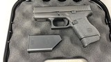 Used Glock 43 9mm w/ one 7 rd mag