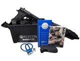 Beretta M9A3 9mm Black 3 x 17+1 Type F J92M9A3MO 2069 - 1 of 2