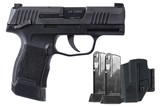 Sig Sauer P365 9mm TacPac W/ Manual Safety 365-9-BXR3-MS-TACPAC