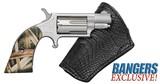 North American Arms Mini-Revolver 22 Mag Gator Skin NAA-22MS-GHI-Bl - 1 of 1