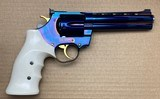 Nighthawk Custom Korth 357 Magnum High Polished Blue 5.25