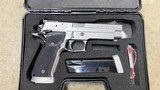Used German Made Sig Sauer P226S X-Five 40 S&W 2-14 rd Mags Green FO Sights