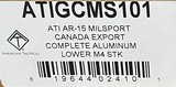 American Tactical AR-15 Mil-Sport Canada Export Complete Lower ATIGCMS101 - 4 of 4