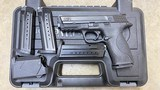 Used Smith & Wesson M&P9 9mm Luger w/ 4 Mags + Maglula!