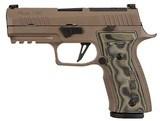 Sig Sauer P320 9mm Scorpion 10 Round Capacity