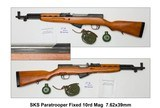 Rare Like New Norinco SKS Paratrooper Fixed 10rd Mag 7.62x39