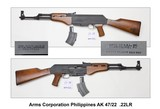 Arms Corporation Phillippines AK 47/22 .22LR - 1 of 2