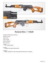 Romanian WUM – 1 7.62x39 - 2 of 2