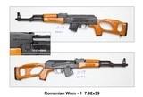 Romanian WUM – 1 7.62x39 - 1 of 2
