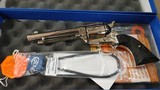 Used Colt Single Action Army 45 Colt Nickel Finish P1856 - 2 of 2