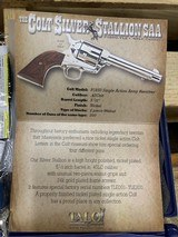 Colt Silver Stallion SAA P1850-TLE 45 LC 1 of 200 TALO Single Action Army - 6 of 7
