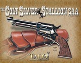 Colt Silver Stallion SAA P1850-TLE 45 LC 1 of 200 TALO Single Action Army - 2 of 7