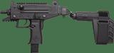 IWI Uzi Pro Pistol w/ Side folding Brace ThreadedUPP9SB-T