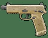 FN FNX-45 Tactical 45 acp 15rd FDE Night Sights FNX45 Ms 66968