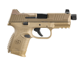 FN 509C Tactical 9mm FDE Threaded Barrel 3- 10 Round Magazines 66-100781