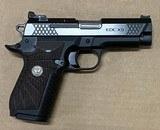 Wilson Combat EDC X9 9mm Polished Slide Non-Lightrail Frame EDCX-CP-9