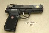 Ruger P345 Phoenix 45 ACP 1 of 500 TALO