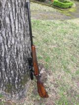 Holland and Holland .458 Winchester Bolt Action Rifle; Cased