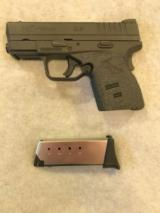 SPRINGFIELD XDS 45 ACP 3.3 SMALL CONCEALED CARRY SEMI AUTO EXCELLENT