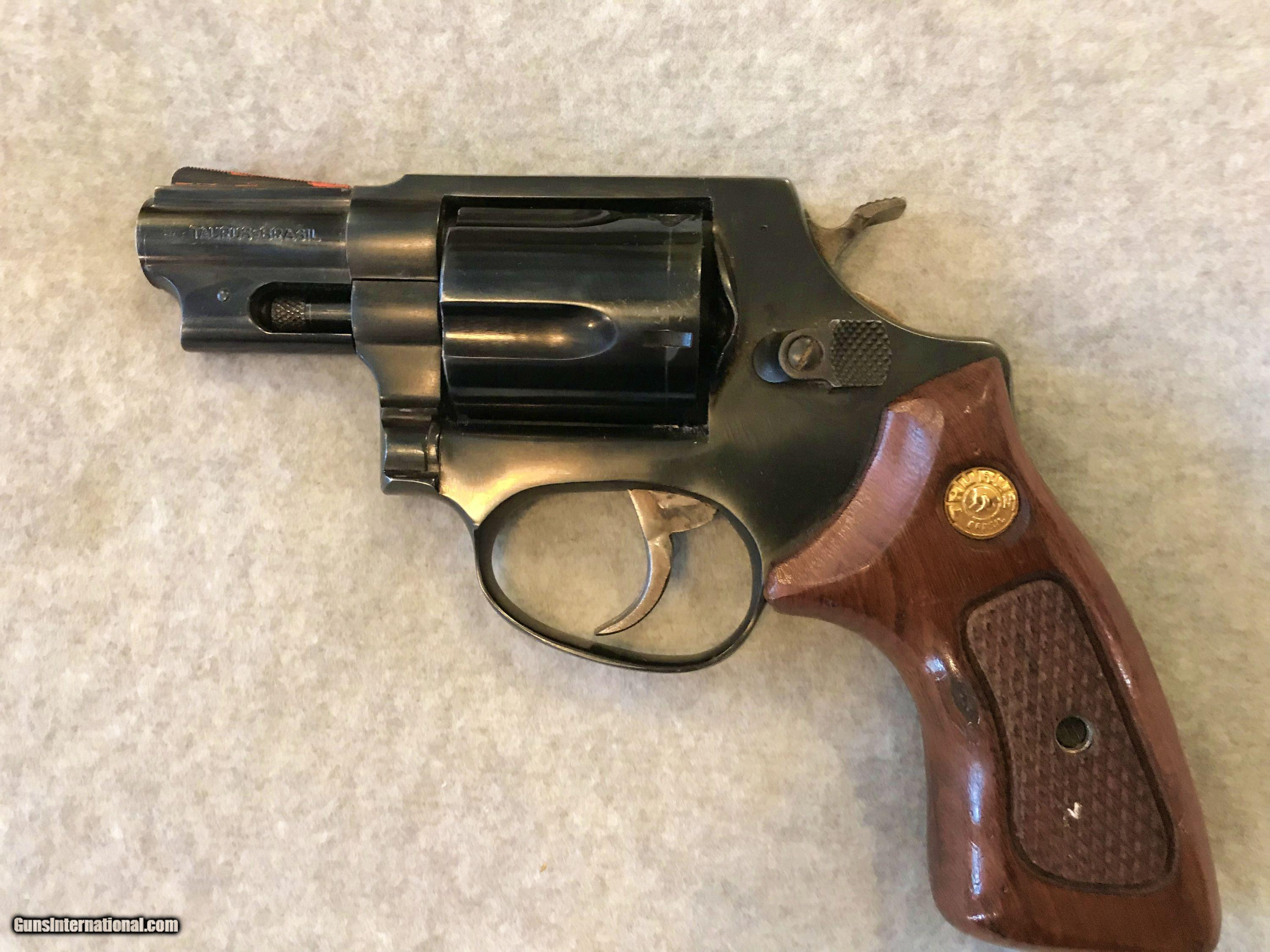 TAURUS MODEL 85 SNUB NOSE 38 SPECIAL MFG 1987