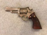 SMITH & WESSON MODEL 19-3 NICKEL 357 MAG
