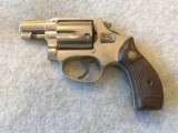 SMITH & WESSON RARE NICKEL CHIEFS SPECIAL AIRWEIGHT 38 SPL