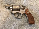 SMITH & WESSON 12-2 AIRWEIGHT NICKEL 38 SPL 2 IN