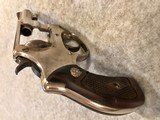 SMITH & WESSON NICKEL 38 TERRIERMADE 1952 - 7 of 9