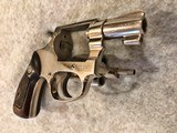 SMITH & WESSON NICKEL 38 TERRIERMADE 1952 - 5 of 9