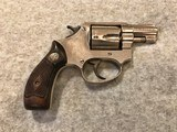 SMITH & WESSON NICKEL 38 TERRIERMADE 1952 - 2 of 9