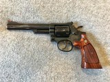 SMITH & WESSON MODEL 19-5 357 COMBAT MAGNUM 6 IN BARREL